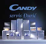 SERVICE CANDY MOMCILO DJURIC - DJURA Household appliances - Service Belgrade