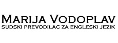 MARIJA VODOPLAV Translators, translation services Belgrade