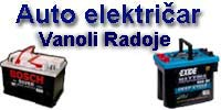 CAR ELECTRICIAN VANOLI RADOJE Car electricians Belgrade