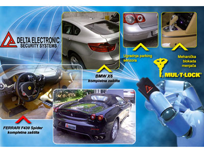 DELTA ELECTRONIC Car alarm systems Beograd