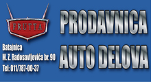 CAR PARTS FRUTTA Replacement parts Belgrade