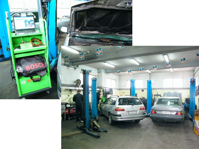 INTERMOBILE BOSCH CAR SERVICE Mechanics Beograd