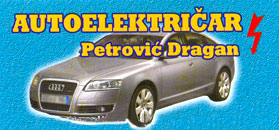 CAR ELECTRICIAN DRAGAN Car electricians Belgrade