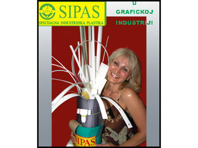 SIPAS SPECIJALNA INDUSTRIJSKA PLASTIKA Graphic production, design Beograd