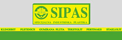 SIPAS SPECIAL INDUSTRY PLASTIC Graphic production, design Belgrade