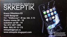 MOBIL PHONES SERVICE SKKEPTIK Mobile phones Belgrade