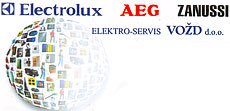 AUTHORIZED ELECTROLUX SERVICE AEG AND ZANUSSI VOZD Electro services Belgrade