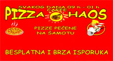 CAFFE PIZZA HAOS Delivery Belgrade