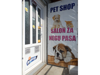 SALON ZA ŠIŠANJE PASA I PET SHOP VIVA PET (EX BERNARD) Pets, pet shop Beograd