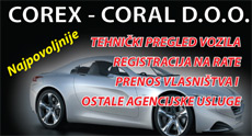COREX CORAL AUTO CENTER LLC - CHECKS AND REGISTRATION OF VEHICLES Car Insurance Belgrade