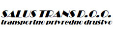 SALUS TRANS Shipping agencies, road shipping Belgrade