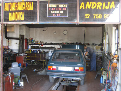 AUTO SERVIS ANDRIJA Oils and filters Beograd