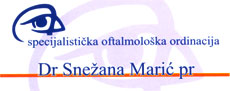 OPHTHALMOLOGY ORDINATION DR SNEZANA MARIC Ophthalmology doctors office Belgrade