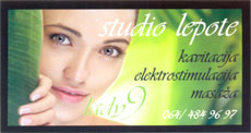 BEAUTY STUDIO LADY 9 Masage Belgrade