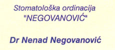 DENTAL ORDINATION NEGOVANOVIC Dental surgery Belgrade