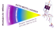AUTO SPEKTAR Car paintwork Belgrade