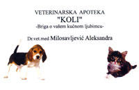 VETERINARY PHARMACY KOLI Pets, pet shop Belgrade