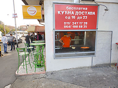 CORNER FOOD DAC Butchers, meat products Beograd