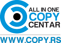 ALL IN ONE COPY CENTER Printing-houses Belgrade