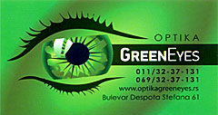 GREEN EYES OPTIKA Optika Beograd