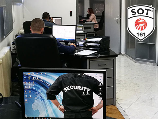 SOT 161 Building security Beograd