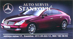 CAR SERVICE STANKOVIC Car air-conditioning Belgrade