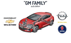 AUTO PARTS GM FAMILY Oils and filters Belgrade