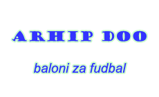 ARHIP DOO - BALLOONS FOR FOOTBALL BRAZIL Inflatable domes for football courts Belgrade