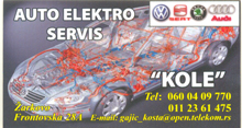 AUTO ELECTRO SERVICE KOLE Car air-conditioning Belgrade