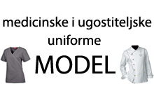 MEDICAL AND CATERING UNIFORMS MODEL Work uniforms Belgrade