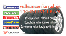 TEHNO VULKAN TIRE SHOP Tire repair Belgrade