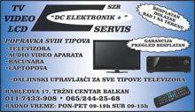 DC ELEKTRONIK PLUS TV SERVIS