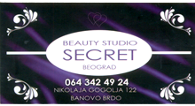 BEAUTY STUDIO SECRET Beauty salons Belgrade