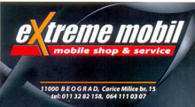 EXTREME MOBIL Mobile phones service Belgrade