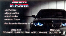AUTO SERVIS M POWER