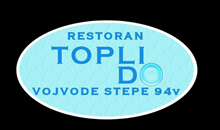 TOPLI DO RESTAURANT Domestic cuisine Belgrade