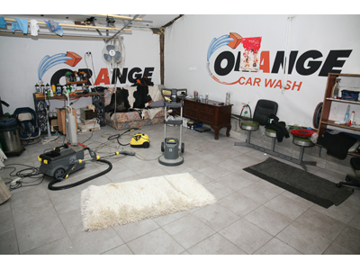 AUTO PERIONICA I VULKANIZER ORANGE CAR WASH Carpet cleaning Beograd