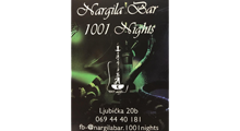 NARGILA BAR 1001 NIGHTS