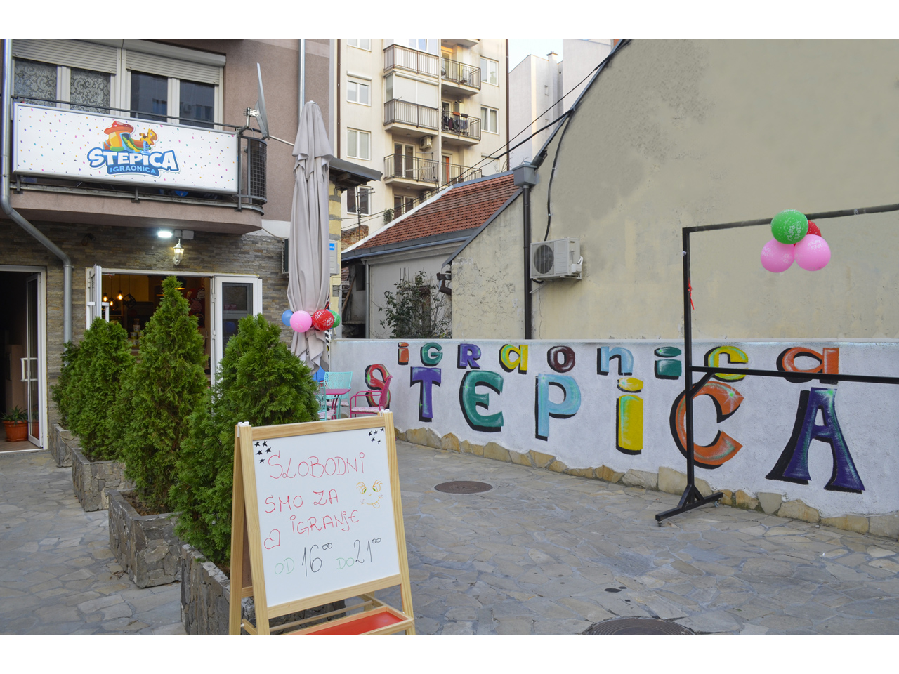IGRAONICA STEPICA Kids playgrounds Beograd