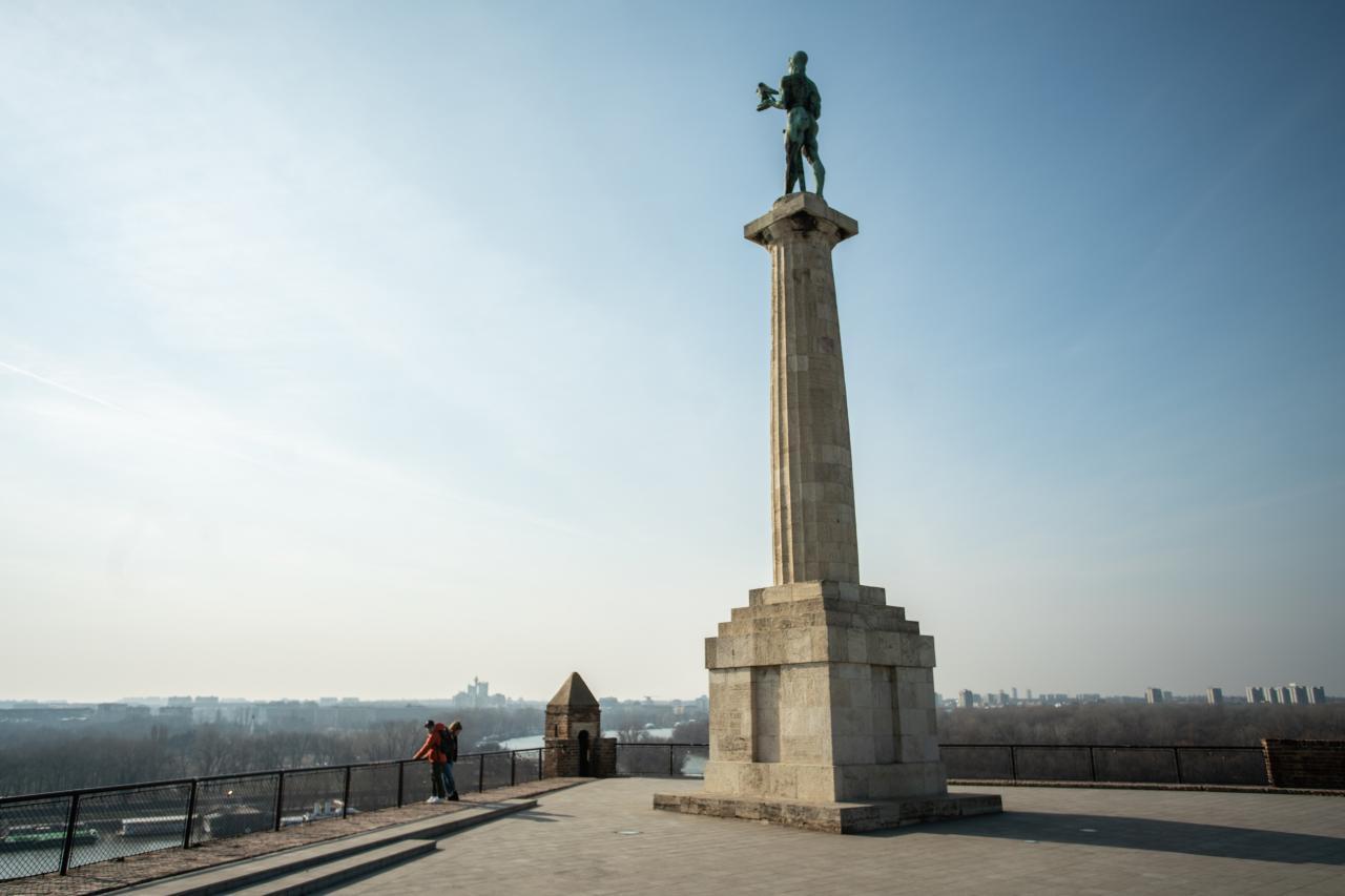 Spomenik Pobedniku Na Kalemegdanu Beograd
