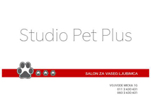 SALON ZA NEGU PASA STUDIO PET PLUS