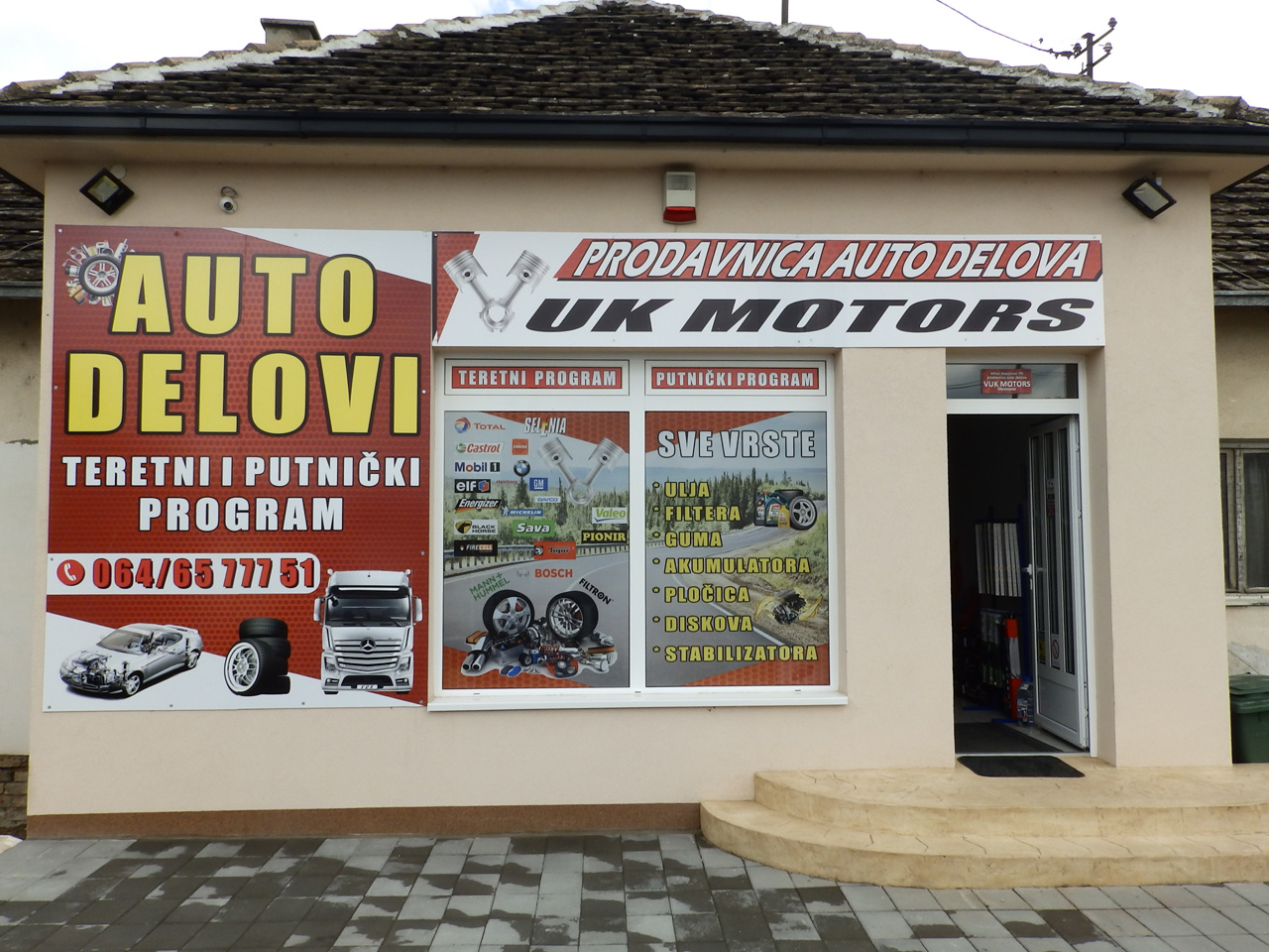 CAR PARTS VUK MOTORS Replacement parts Beograd