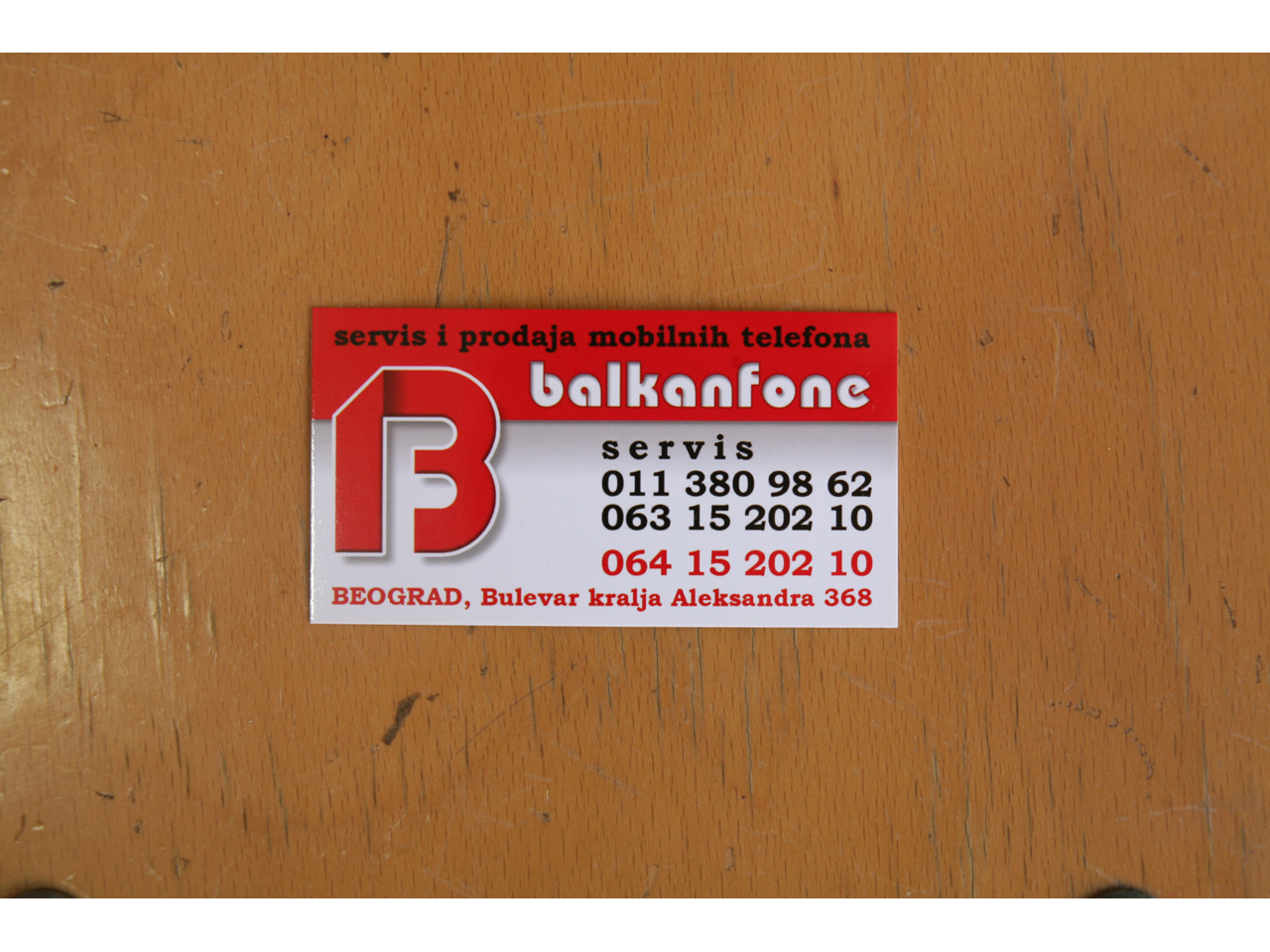 BALKANFONE Mobile phones, mobile phone equipment Beograd