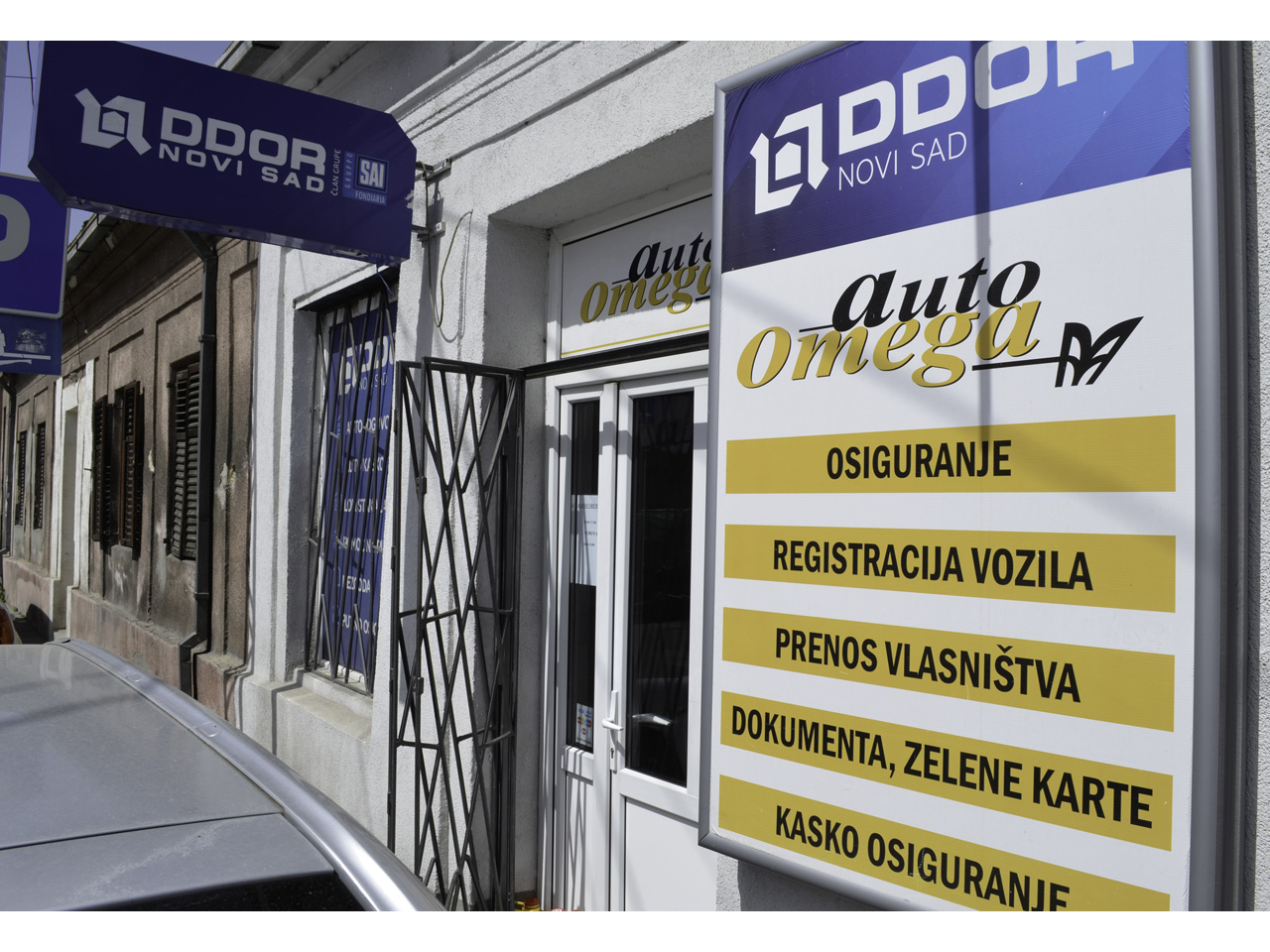 AUTO OMEGA Ownership Transfer, car registration Beograd