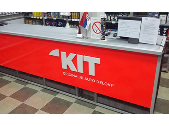 KIT COMMERCE Replacement parts Beograd