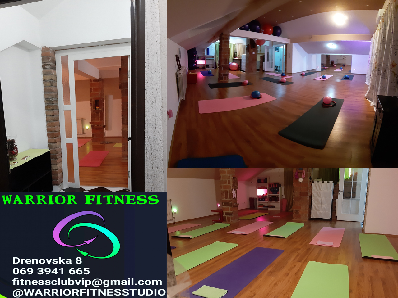 WARRIOR FITNESS STUDIO Teretane, fitness Beograd