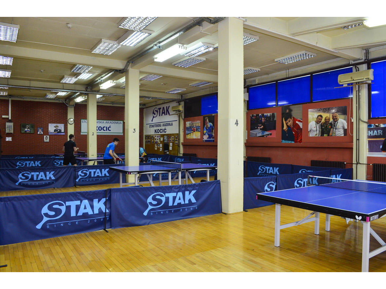 TABLE TENNIS ACADEMY KOCIC Sport facilities Beograd