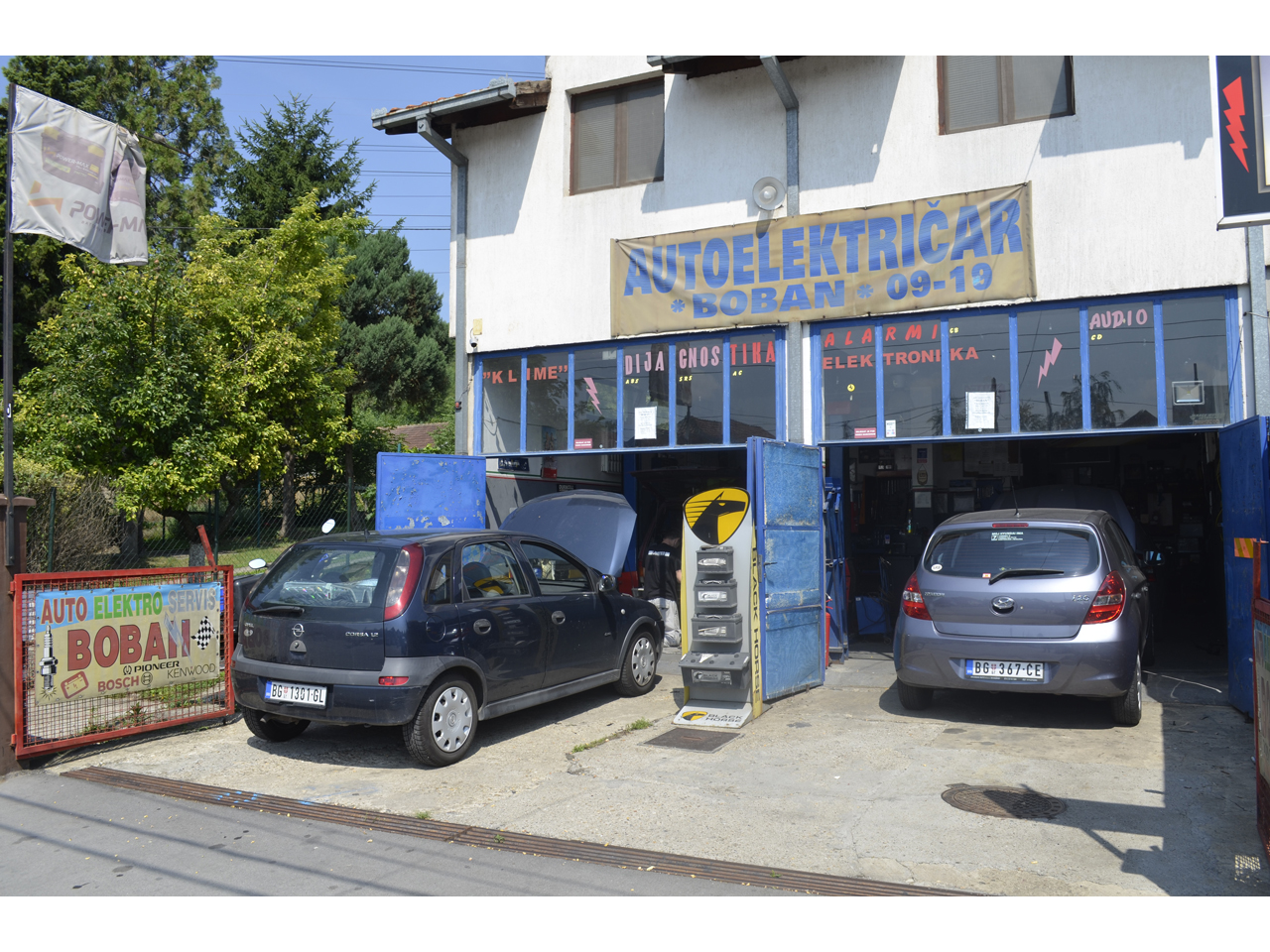 AUTO ELEKTRO SERVIS BOBAN Oils and filters Beograd