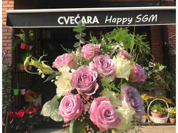 FLOWER SHOP HAPPY SGM Flowers, flower shops Beograd