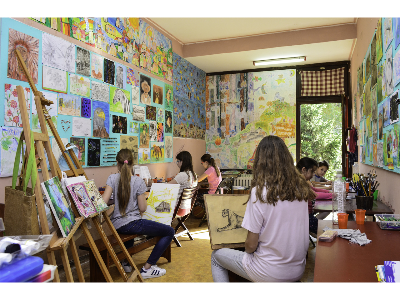 MINA'S DRAWING AND PAINTING SCHOOL Creative centers Beograd